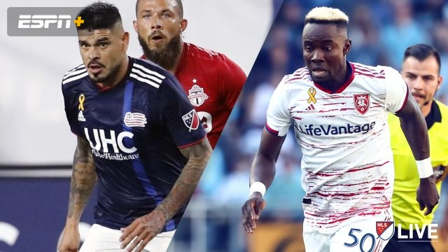 New England Revolution vs. Real Salt Lake (MLS)