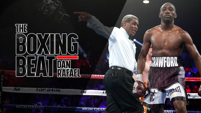 "Tue, 10/9 - The Boxing Beat: Rafael interviews Crawford, ""Big Baby"" Miller"