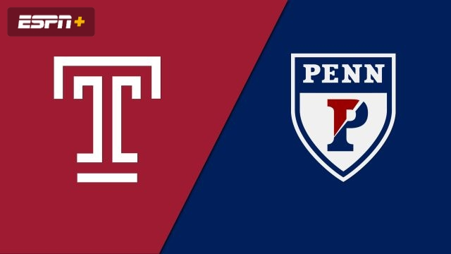 Temple vs. Pennsylvania (M Soccer)
