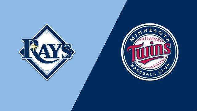 Tampa Bay Rays vs. Minnesota Twins
