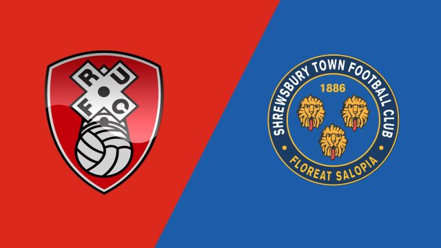 Rotherham United vs. Shrewsbury Town (Final) (English League One Playoff)