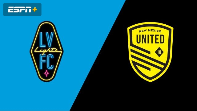 Las Vegas Lights FC vs. New Mexico United (USL Championship)