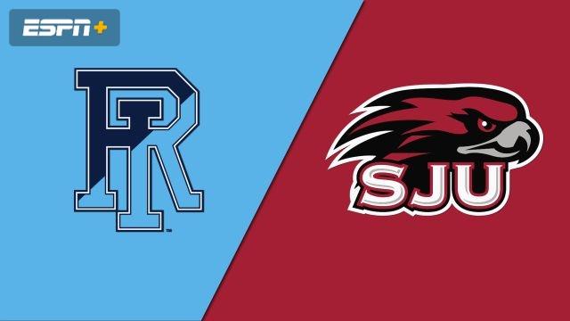 Rhode Island vs. Saint Joseph's (W Basketball)