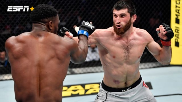 Magomed Ankalaev vs. Dalcha Lungiambula (UFC Fight Night: Zabit vs. Kattar)
