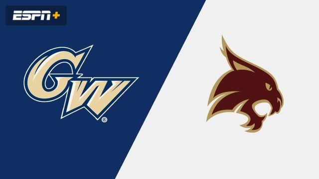 George Washington vs. Texas State (W Volleyball)