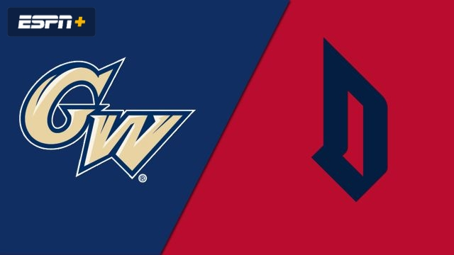 George Washington vs. Duquesne (M Soccer)