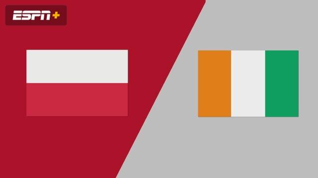 Poland vs. Ivory Coast (Group Phase)