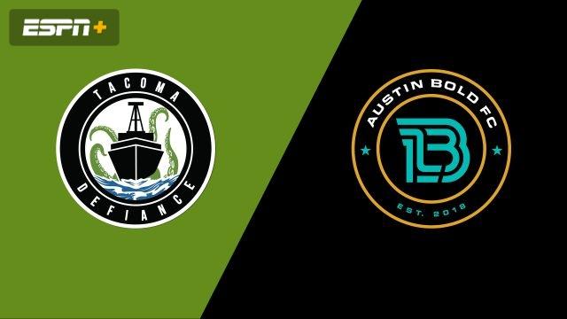 Tacoma Defiance vs. Austin Bold FC (USL Championship)