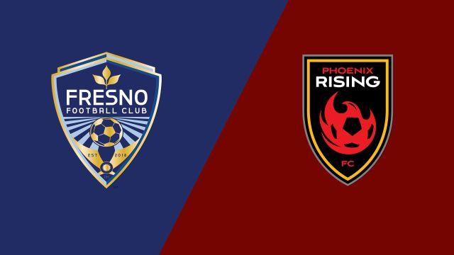 Fresno FC vs. Phoenix Rising FC