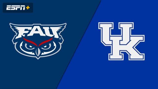 Florida Atlantic vs. #15 Kentucky (Quarterfinal) (M Soccer)