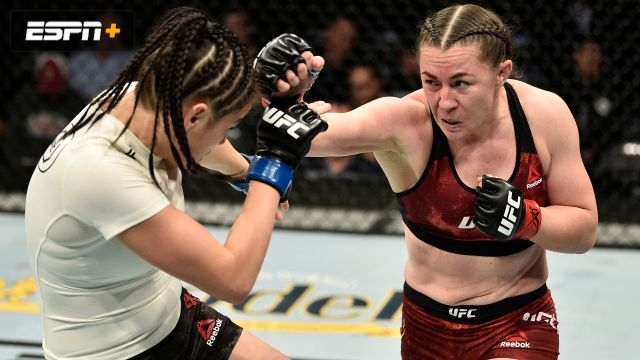 Molly McCann vs. Diana Belbita (UFC Fight Night: Reyes vs. Weidman)