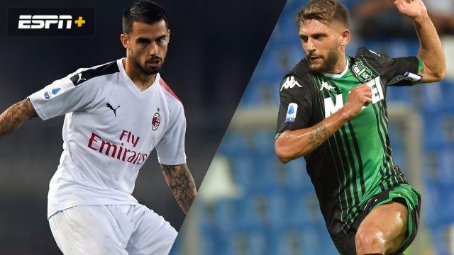 AC Milan vs. Sassuolo (Serie A)
