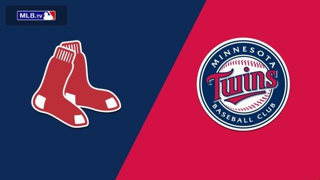 Boston Red Sox vs. Minnesota Twins