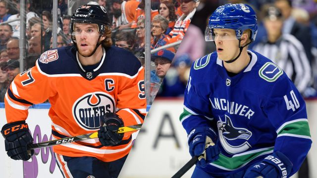 Edmonton Oilers vs. Vancouver Canucks