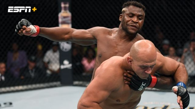 UFC Fight Night presented by Modelo: Ngannou vs. Dos Santos (Main Card)