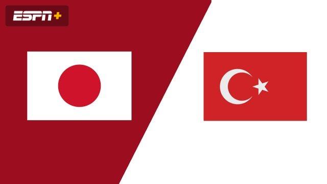 Japan vs. Turkey (Group Phase)