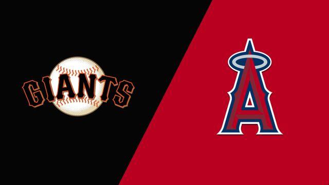San Francisco Giants vs. Los Angeles Angels