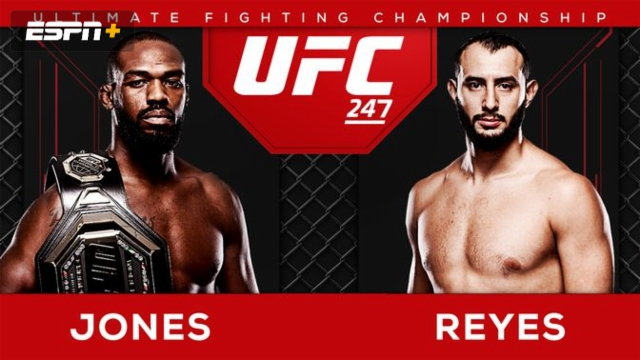 UFC 247 Pre-Show: Jones vs. Reyes