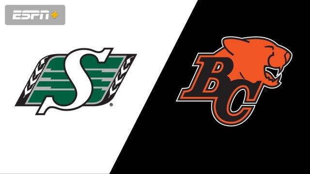 Saskatchewan Roughriders vs. BC Lions (Canadian Football League)