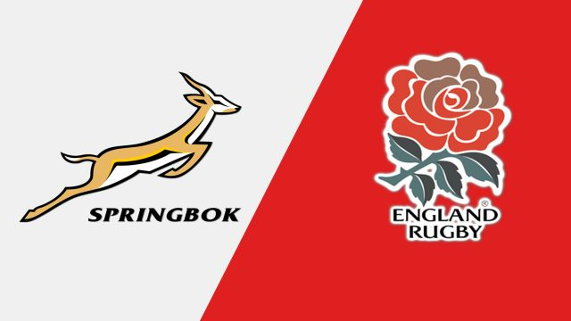 South Africa vs. England (International Rugby)