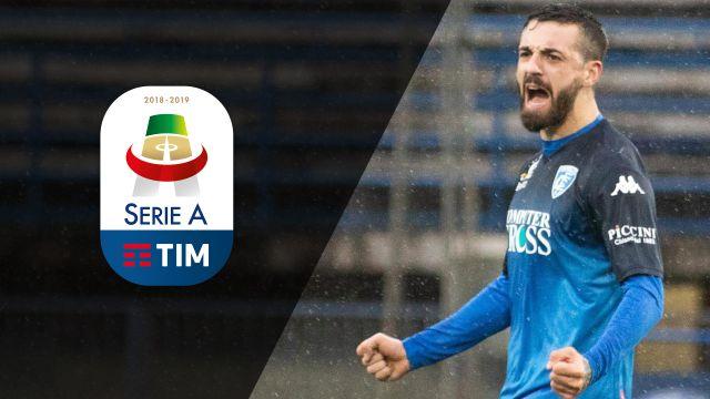 Tue, 2/5 - Serie A Full Impact: Empoli, Chievo draw in rain