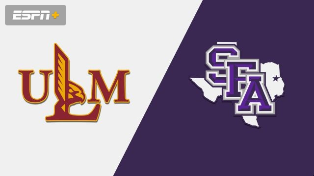 Louisiana-Monroe vs. Stephen F. Austin (M Basketball)