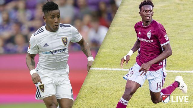 Real Salt Lake vs. Colorado Rapids
