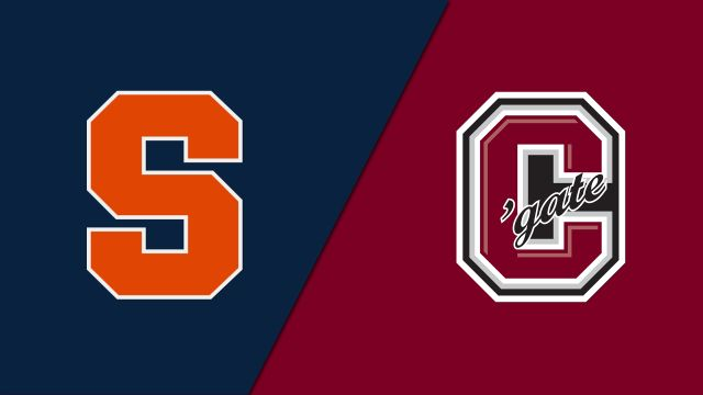 Syracuse vs. #10 Colgate (W Hockey)