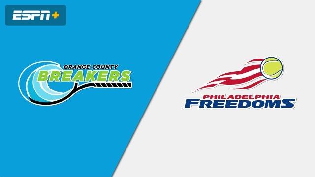 Orange County Breakers vs. Philadelphia Freedoms