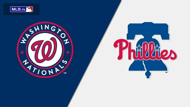 Washington Nationals vs. Philadelphia Phillies