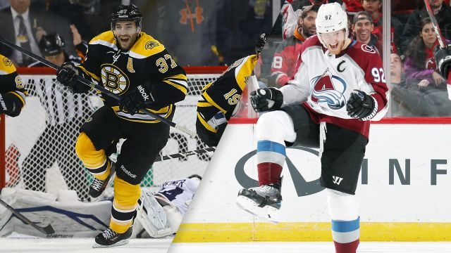Boston Bruins vs. Colorado Avalanche
