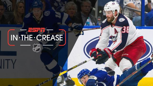 Mon, 4/15 - In the Crease: Blue Jackets look to put Lightning on the brink