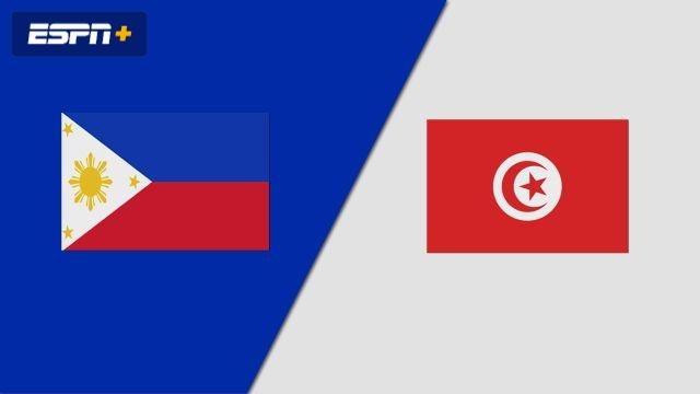 Philippines vs. Tunisia (Group Phase)