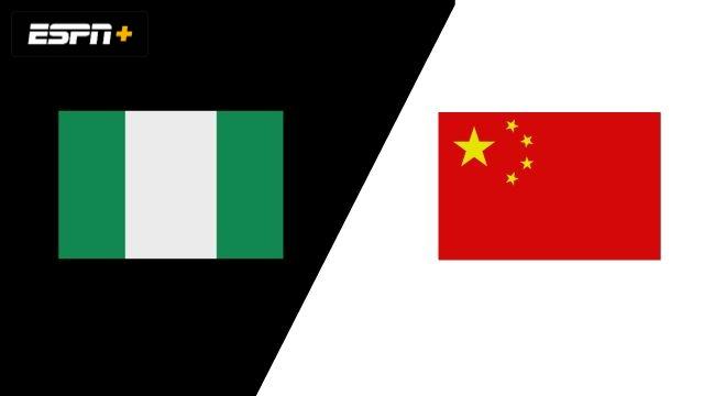 Nigéria vs. China (Group Phase)