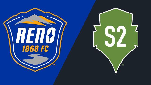 Reno 1868 FC vs. Seattle Sounders FC 2