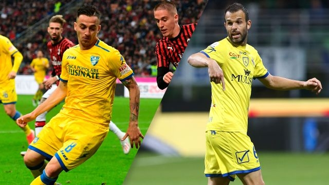 Frosinone vs. Chievo (Serie A)