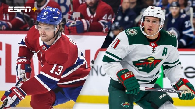 Montreal Canadiens vs. Minnesota Wild