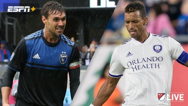 San Jose Earthquakes vs. Orlando City SC (MLS)