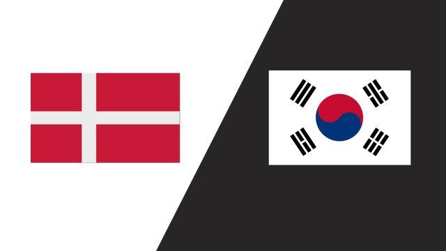 Denmark vs. Korea (2018 FIL World Lacrosse Championships)