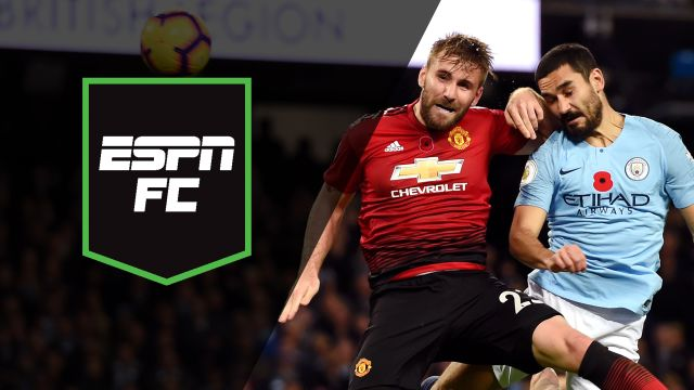 Sun, 11/11 - ESPN FC: Battle for Manchester