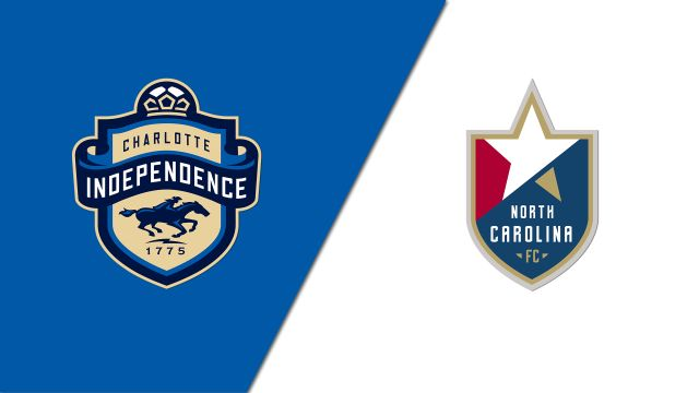 Charlotte Independence vs. North Carolina FC (USL Championship)