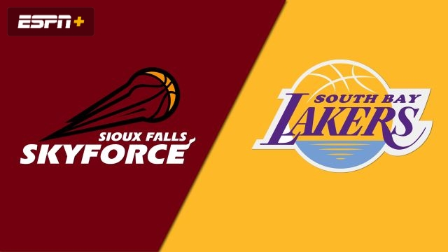 Sioux Falls Skyforce vs. South Bay Lakers