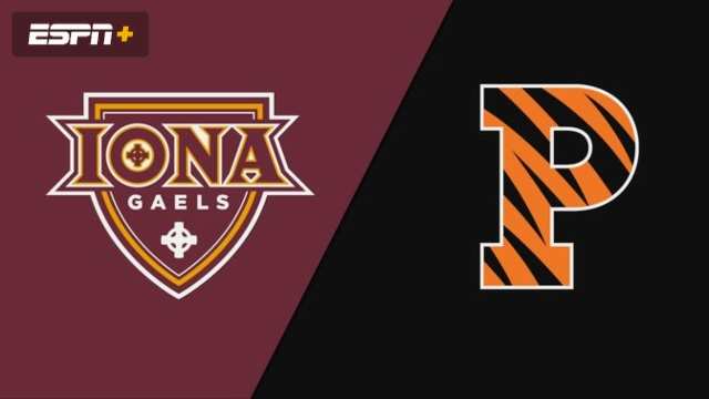 Iona vs. Princeton (W Water Polo)
