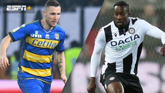 In Spanish-Parma vs. Udinese (Serie A)