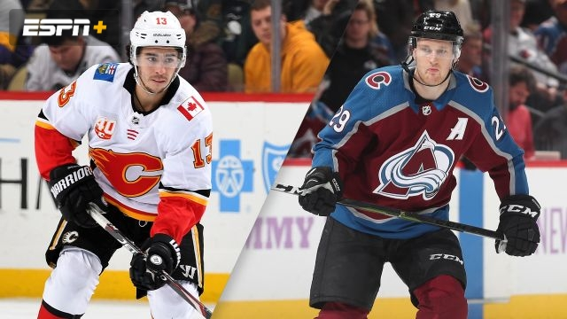 Calgary Flames vs. Colorado Avalanche
