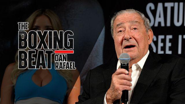 Tue, 10/16 - The Boxing Beat w/ Dan Rafael: Special guest Bob Arum