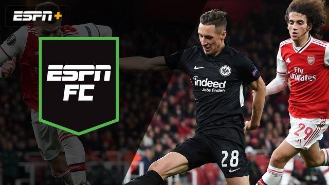Thu, 11/28 - ESPN FC: Gunners host Eintracht