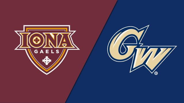 Iona vs. George Washington (Baseball)