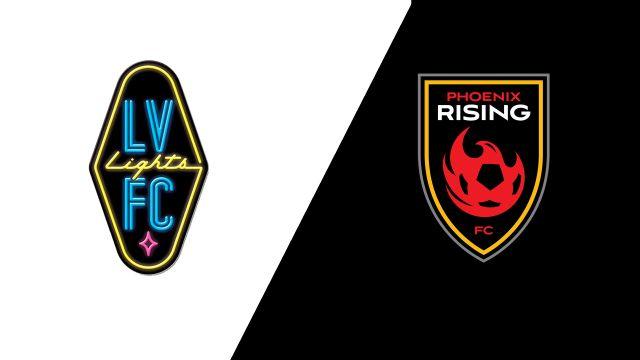 Las Vegas Lights FC vs. Phoenix Rising FC