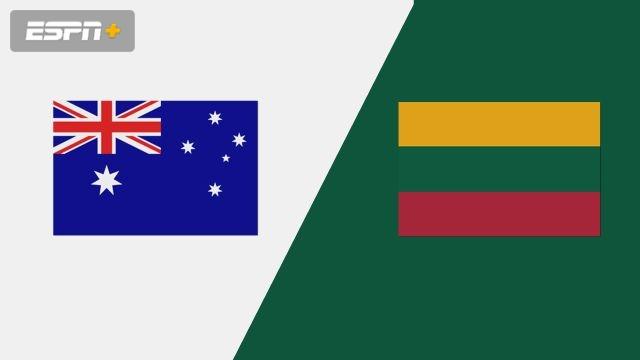 Australia vs. Lithuania (Group Phase)